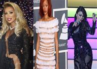 بالصور: الفساتين الشفافة موضة النجمات لهذا الصيف