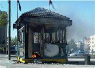 """ضبط طالب حرق """"كشك"""" بسبب خلافات مالية مع صاحبه بالزيتون"""