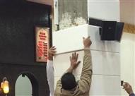 إصابة 8 مصلين إثر سقوط قطعة رخام عليهم بمسجد في بولاق الدكرور