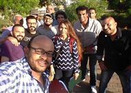 """بالصورة- محمد رجب يبدأ تصوير """"صابر جوجل"""" في القرية الذكية"""