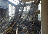 إصابة ٤ أشخاص فى انهيار جزء من سقف مسجد بكفرالشيخ