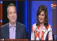 """تامر أمين لــ وزيرة الهجرة: """"يا رب الستات تزيد في الحكومة"""""""