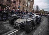 """بالفيديو.. سيارة """"باتمان"""" تحمل الجنسية السعودية في رالي جامبول"""