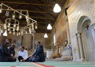 بالصور.. حكاية الكنيسة المهجورة التى تحولت إلى مسجد