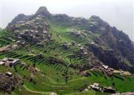 أين يقع جبل النبي شعيب؟