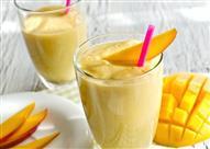 طريقة عمل عصير مانجو باللبن