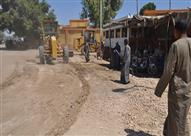 إزالة 42 حالة تعدى على أراض زراعية وأملاك دولة بمركز ساحل سليم بأسيوط
