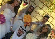بالفيديو والصور.. حقيقة زواج شاب كويتي من 4 فتيات في ليلة واحدة