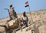 قوات الجيش تصفي عنصرين من بيت المقدس بمحيط قسم شرطة الشيخ زويد