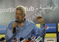 مرتضى منصور يُهاجم محمد حلمي: يتحمل مسؤولية التعادل