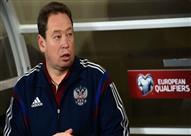 روسيا تبحث عن مدرب جديد لمنتخب كرة القدم بعد استقالة سلوتسكي