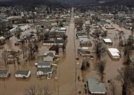 مقتل 24 شخصا في فيضانات ولاية ويست فرجينيا الأمريكية