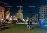 """بالصور - الأولتراس يدخل """"التحرير"""" للاحتفال بالدوري.. والأمن يفرقهم"""
