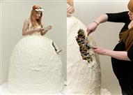 فرحك قرب؟  جربي بدائل غريبة لتورتة الزفاف التقليدية