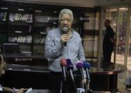مؤتمر مرتضى منصور عن أزمة الجهاز الفني للزمالك وخسارة الدوري