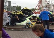 خروج قطار ملاهي عن مساره في متنزه اسكتلندي.. والحصيلة 11 مصابًا
