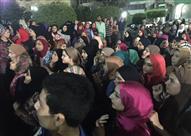 بالصور.. مهددون بالاعتصام طلاب الثانوية في المنصورة وبلقاس يواصلون