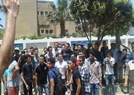 مظاهرة لطلاب الثانوية العامة بالمنوفية احتجاجا على تأجيل الامتحانات