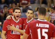 بالصور- كرة طائرة- مصر تفوز على تركيا وتواصل صحوتها في الدوري العالمي