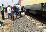 مصرع مواطن سقط من قطار أشمون بالمنوفية