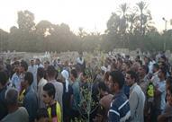 الحزن يخيم علي قرية منقباد لاستشهاد أحد أبناء البلدة في حادث الفرافرة