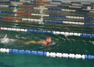 بالصور - بدء التشغيل التجريبي لحمام السباحة الأوليمبي بالأقصر بتكلفة