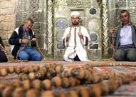 بالصور.. مسبحة عملاقة عمرها 700 عام بإحدى مساجد تركيا