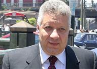 مرتضى منصور يمارس رياضته المفضلة مع سفير باراجواي في مصر
