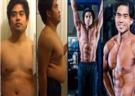 بالصور.. كيف تحول جسم هذا الشاب في 12 أسبوعاً فقط؟