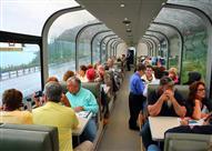 """بالفيديو.. اليابان تبتكر أول قطار """"زجاجي"""" في العالم"""