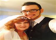 بالصور.. قابلته لأول مرة بجنازة ابنها الشاب.. لتنتهي القصة بالزواج