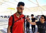 صور- سفر بعثة النادي الأهلي إلى المغرب لمواجهة الوداد