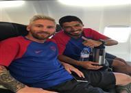 ميسي يسافر إلى إنجلترا مع برشلونة استعدادا للموسم الجديد