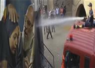 """الليثي يعرض أصعب مشهد بـ""""اشتباك"""".. حرق أبطال الفيلم بسيارة الترحيلات"""