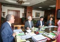 وزير الري يلتقي السفير الياباني بالقاهرة ويبحث ملفات تحلية مياه البحر