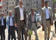 محافظ الجيزة : بدء أعمال تطوير إمتداد شارع الملك فيصل