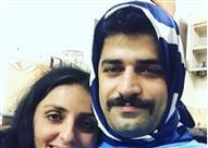 بالصور.. رجال إيرانيون يرتدون الحجاب.. والسبب!