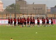 مران الأهلي استعدادا لسموحة في ربع نهائي كأس مصر
