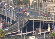 مرور القاهرة: إغلاق جزئي لكوبري أكتوبر لمدة 3 أيام