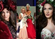 بالفيديو والصور.. فستان ملكة جمال الأرض يضعها في ورطة لحظة تتويجها