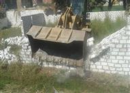 إزالة 60 حالة تعد وتحرير 214 محضر مخالف بمركز سمالوط بالمنيا
