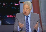 """مرتضى منصور يفتح النار على عمرو أديب وملاك مجموعة """"DMC"""" - فيديو"""