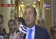 """بالفيديو - وزير التموين: """"هذا ما ناقشني فيه مجلس النواب"""""""