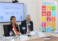 سحر نصر تستعرض خطوات مصر في أول عام لإطلاق أهداف التنمية المستدامة