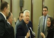 """بالفيديو- """"خناقة في مجلس النواب"""".. ومرتضى منصور: """"اللي أخد فلوس من الشوبكي يرجعها"""""""