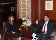 سحر نصر تبحث مع سفير أذربيجان الإعداد لعقد اللجنة المشتركة بين البلدين