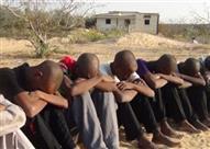 أمن مطروح يحبط محاولة تسلل 16 شخصًا من 8 محافظات إلى ليبيا عبر السلوم