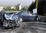مصرع واصابة 3 أشخاص في حادث مروري بطريق القاهرة الاسماعلية الصحراوي