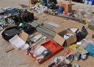 الأمن الوطني يضبط مواد متفجرة داخل محل منظفات بالوراق