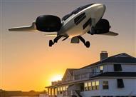 بالصور - طائرات خاصة تهبط في فناء المنزل
